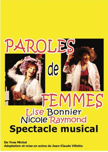 """""""Paroles de Femmes"""" - Théâtre de la PLACETTE à NÎMES"""