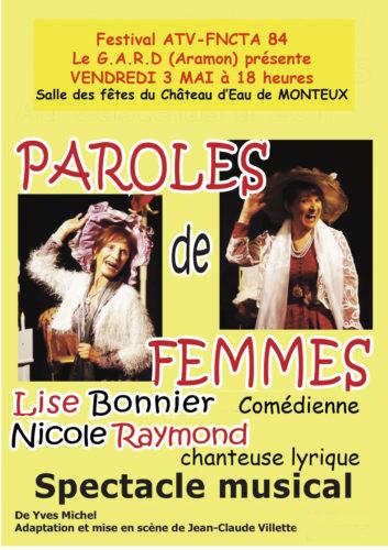 """""""Paroles de femmes à Monteux"""